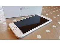 APPLE IPHONE 6 in amazing condition, white/silver