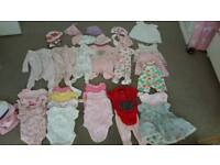 Baby girl bundle (first size and 0-3)