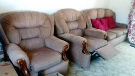 Sofa sets, one chair recliner.