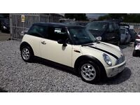 Mini COOPER 1596cc Petrol Hatchback,2003(03) White, Manual, MotExpires: 31 March 2017