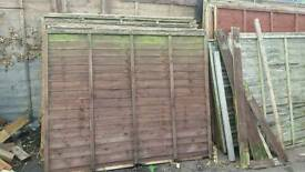 Panels £5 each fencing available