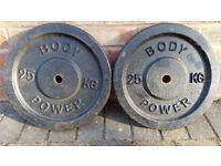 25KG CAST IRON BODY POWER WEIGHT PLATES