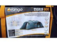8 man tent Vango Tigris with footprint groundsheet