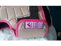 Childrens Horse riding safety vest size medium excellent condition