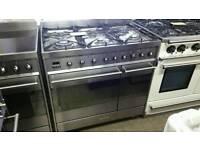 Smeg 90cm dual fuel range cooker