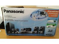 Panasonic Home Cinema System with a separate 4K dvd Player