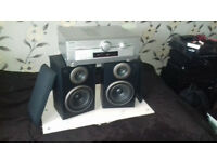 Technics speakers+Panasonic amp