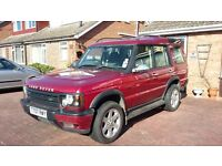 Land Rover Discovery, 7 seater, V8 LPG, Half Leather, MOT, tidy condition.