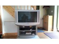 For sale flat screen Sony Tv, silver coloir plus original stand mint condition, Bargain!!! £30 ,