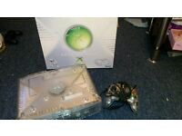 Xbox crystal plus controller