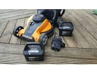 Worx battery lawnmower