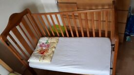 Lovely cot for sale