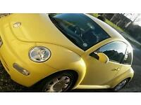 2005 yellow beetle for sale
