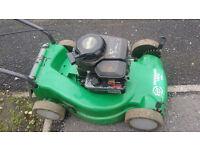 petrol mower can be seen working all ok just needs grass box .