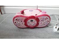 BARBIE RADIO WITH CD PLAYER