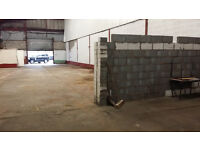 Large Storage Unit Warehouse To Let Avilable From Today