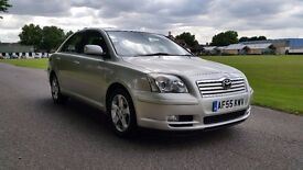 TOYOTA AVENSIS 2.2 T4 D-4D 55 PLATE 2005 1OWNER SINCE 2006 95508 MILES FULL TOYOTA DEALER HISTORY