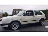 VW Mk2 Golf GTI 92 Alpine White 3 Door Hella heckblende Rainbow