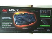 PC Gaming Mouse, Keyboard and Mouse Mat. AS NEW!!