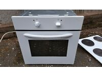 Electric white oven