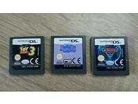 CARS 2 PEPPA PIG TOY STORY 3 DS GAMES