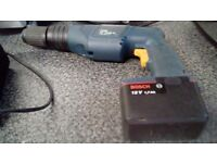 For sale bosch cordless power drill