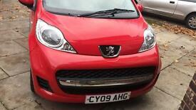Peugeot 107 lovely look automatic and low mileage