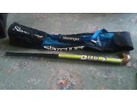 Slazenger Hockey Bag and Dita Supreme Hockey Stick.