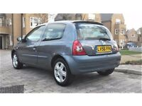 06/56 Renault Clio 1.2 Campus Sport/Low Miles/New MOT/New Clutch/1 Owner