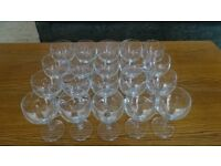 20 Balloon Wine/Cocktail Glasses