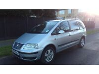 VW SHARAN AUTOMATIC 2005 7 SEATER