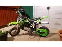 Mini moto pit bike dirt kids 50cc