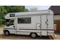 Fiat Ducato 590RS Motor Home Camper - Very Low Mileage
