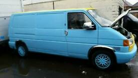 Vw t4 2.4d project lwb van not t5