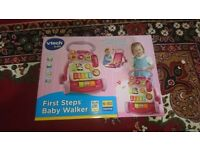 VTech First Steps Baby Walker - Pink - UNBOXED NEW