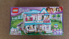 Lego 41314 Friends Stephanie's House - Brand New