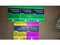 Psychology books: developmental psychology, health psychology, mathematical & statistical psychology