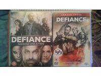 Box set of defiance dvds