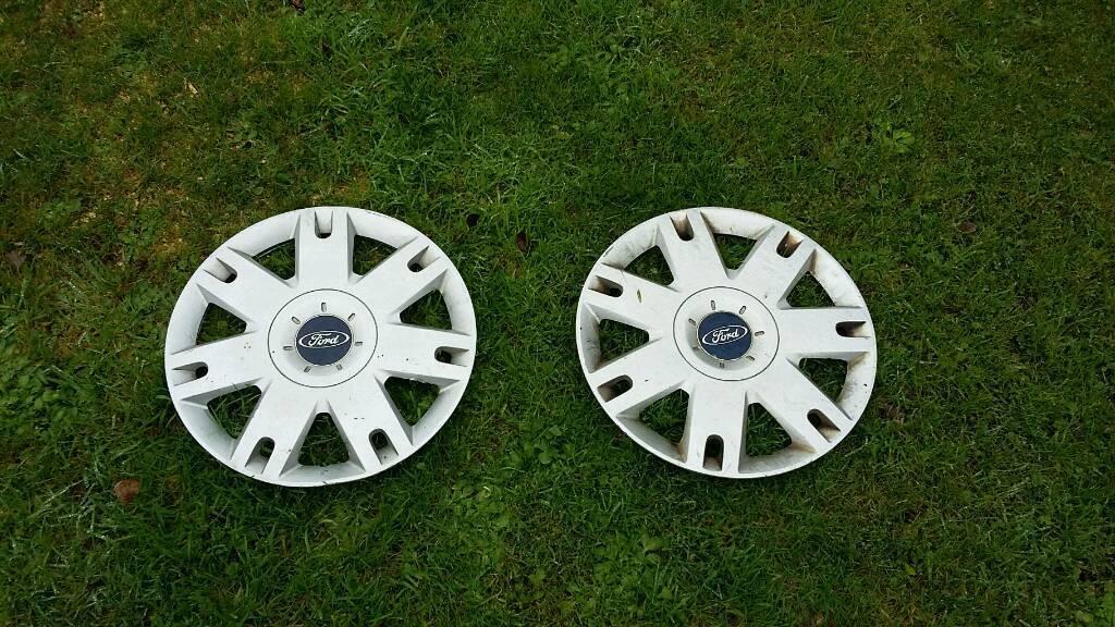 """Ford wheel trims 14"""" fiesta 1 pair trailer"""