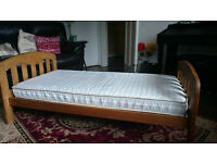 John Lewis Rachel Cotbed and John Lewis Pocket Sprung Cotbed Mattress