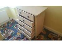 Childrens chest of drawers