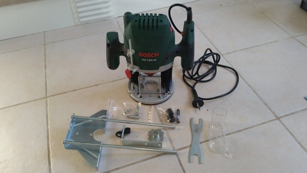 Bosch pof 1200 ae plunge router in cradley heath west midlands bosch pof 1200 ae plunge router keyboard keysfo Choice Image