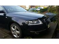 Audi A6 2.0 TDI braking only not a hole car