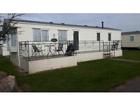 Sited Static caravan for sale. Reduced price for quick sale. Lovely 8 berth holiday home