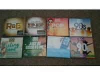 8x pop compilation cd albums NEW