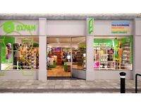 Volunteer Store Assistant wanted in a busy Oxfam store in Hitchin