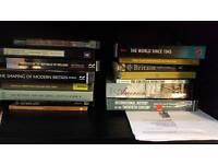 Selection of history books / politics books for sale (Britain, Ireland, America)