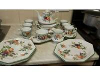 Tea and dinner set