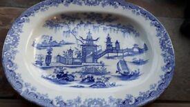 Old Blue Meat platter