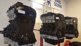 FORD TRANSIT ENGINE EURO 4 FULLY RECONDITIONED 2.2cc £1095 - 2.4cc £1295 FREE 48HR DELIVERY